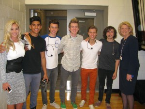 Boy Band Helps Spread Anti-Bullying Message